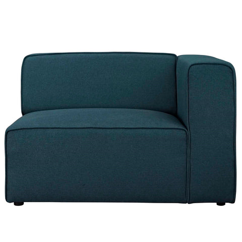 MINGLE MODULAR FABRIC RIGHT-ARM FACING CHAIR IN MANY COLOR OPTIONS