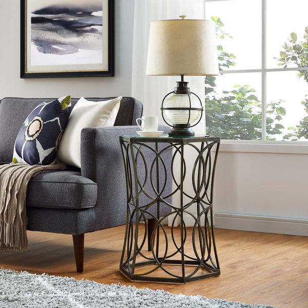 "CIRCLE 15.5"" SIDE TABLE"
