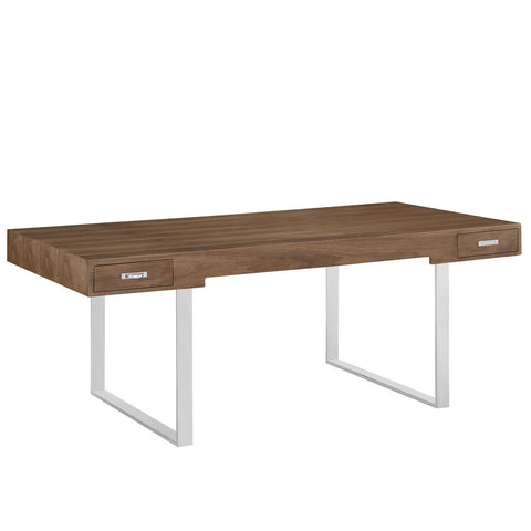 CH110 Style Executive Desk Table in Walnut or Oak