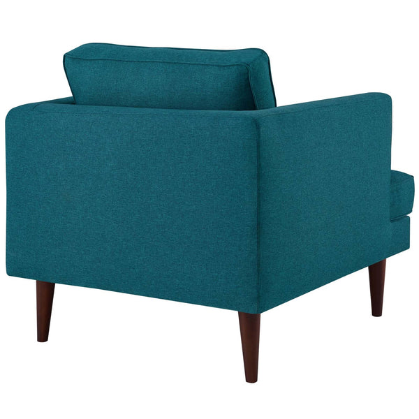 AGILE UPHOLSTERED ARMCHAIR IN MANY COLORS