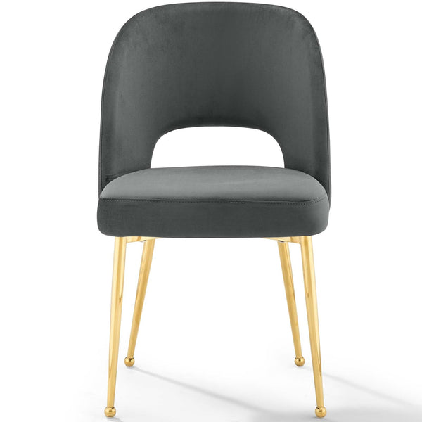 Rouse Dining Room Side Chair In Charcoal, Navy or White