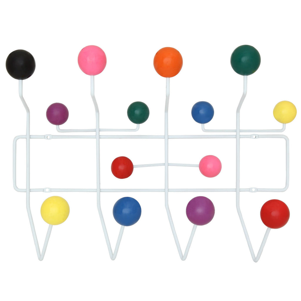 Eames Style Hang It All Wall Hanger Multicolor Plastic