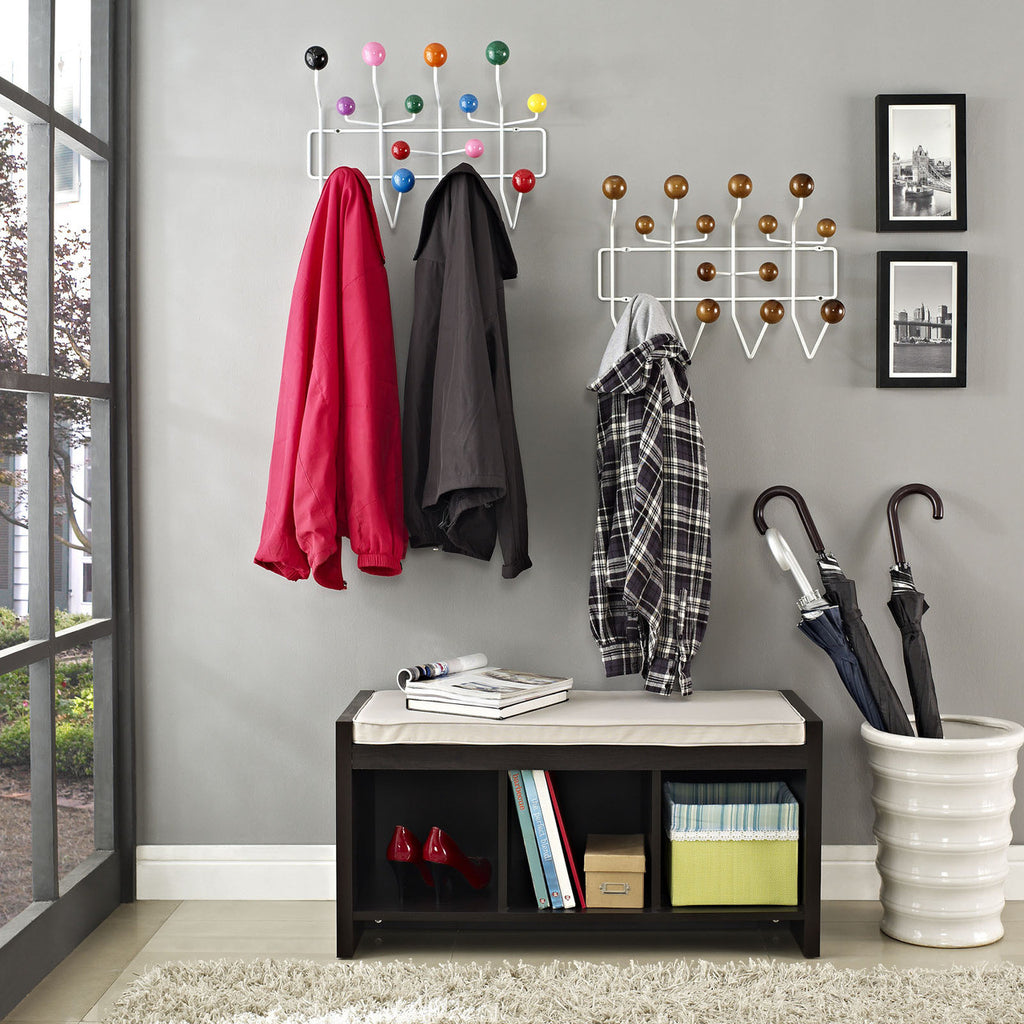 eames style hang it all wall hanger multicolor plastic. Black Bedroom Furniture Sets. Home Design Ideas