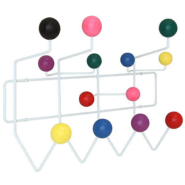 Eames Style Hang-It-All Wall Hanger Multicolor Plastic Balls