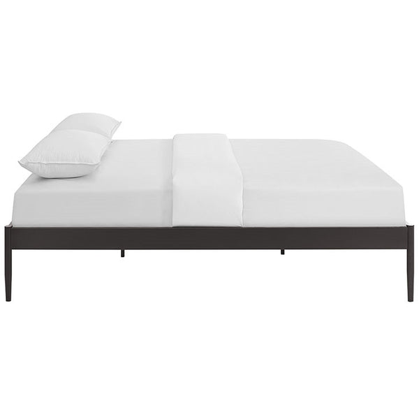 ELSIE STAINLESS STEEL BED FRAME IN TWIN/FULL/QUEEN/KING in Brown, White or Grey