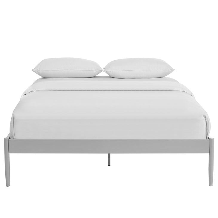 611f210c4e3a ELSIE STAINLESS STEEL BED FRAME IN TWIN/FULL/QUEEN/KING in Brown, ...