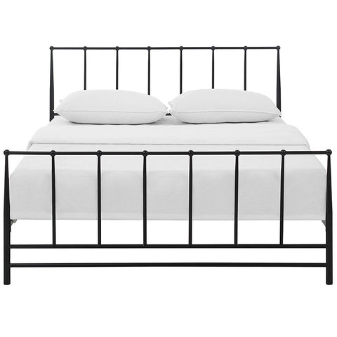 ESTATE STAINLESS STEEL BED FRAME IN TWIN/FULL/QUEEN/KING in MANY COLOR OPTIONS