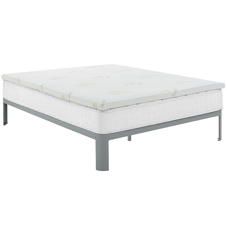 "RELAX 2"" GEL MEMORY FOAM MATTRESS TOPPER IN TWIN/FULL/QUEEN/KING SIZE"
