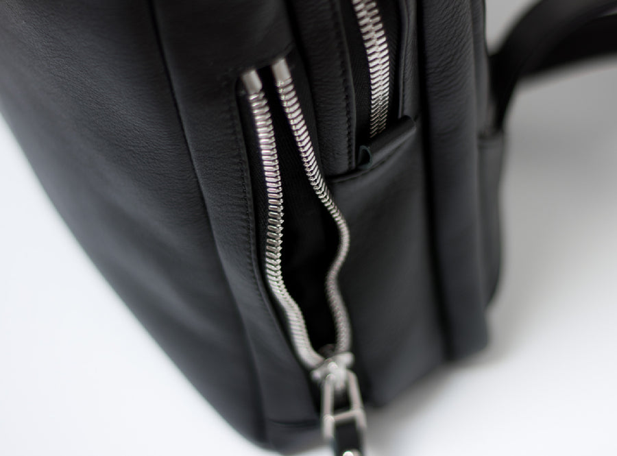 Quick Access Side Zip Pockets