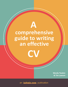 A Comprehensive Guide to Writing an Effective CV ( PDF ebook)