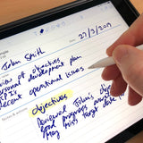 One to One Notes template for paperless use on iPad or tablet