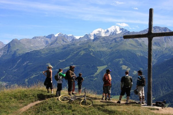 Mountain Biking Matterhorn and the Swiss Alps