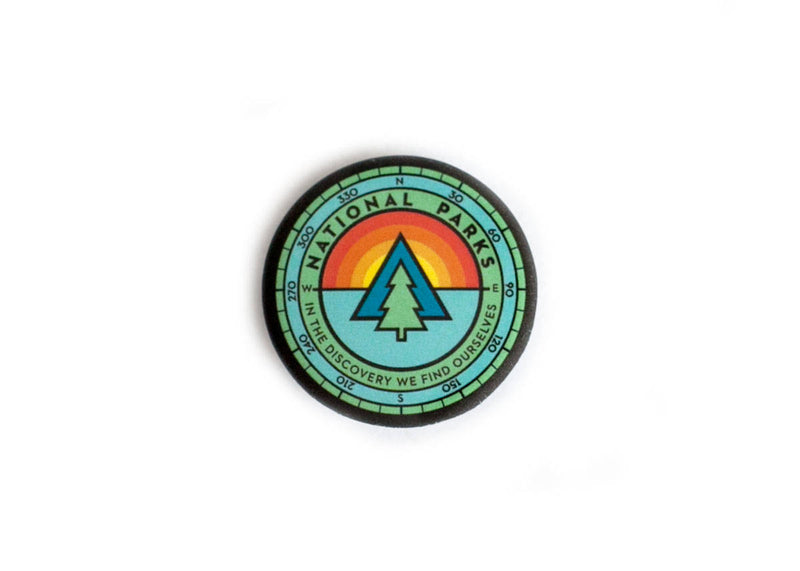 Ello There Ello There - Button - Tree Compass [product_variant]  - Wander Outfitters