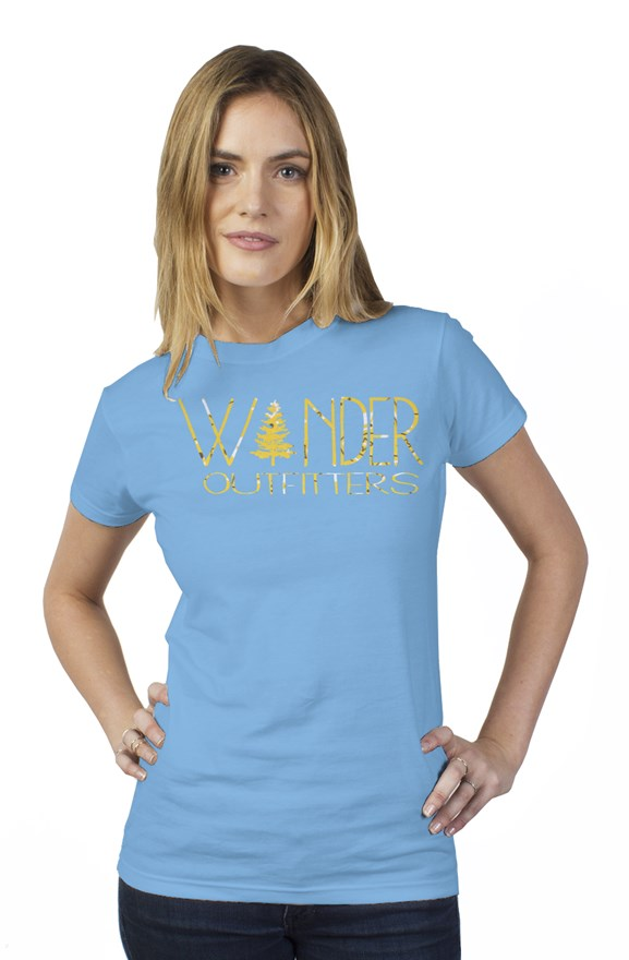 Apliiq Wander Lemon Paisley Logo Tee [product_variant] tshirts - Wander Outfitters