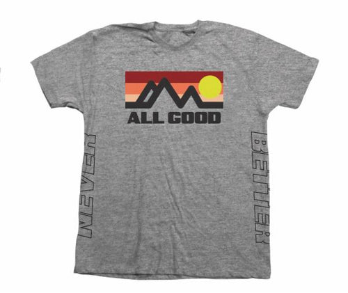 All Good All Good - Horizon Burg Track Tee [product_variant] Mens T-Shirts - Wander Outfitters