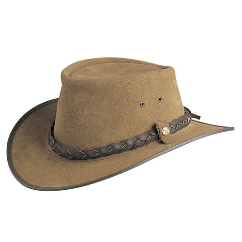 Conner Hats BC Hats Bac Pac Traveller Suede Australian Leather Hat [product_variant] Hats - Wander Outfitters