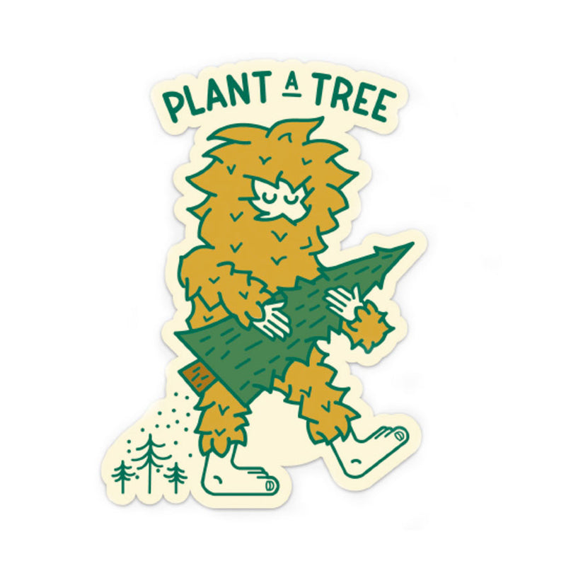 Ello There Ello There - Sticker - Bigfoot Tree Planter [product_variant]  - Wander Outfitters