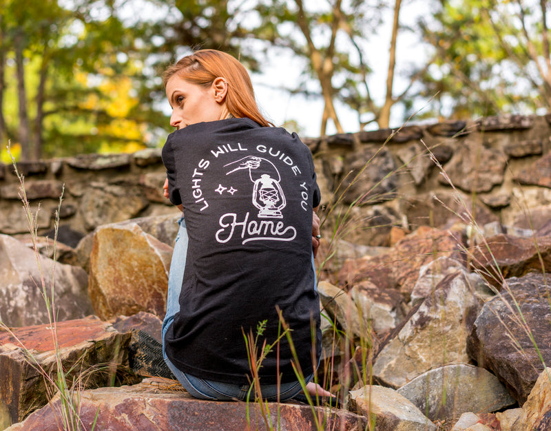 The Parks Apparel The Parks Apparel Lights Will Guide Unisex Tee [product_variant] T-Shirt - Wander Outfitters