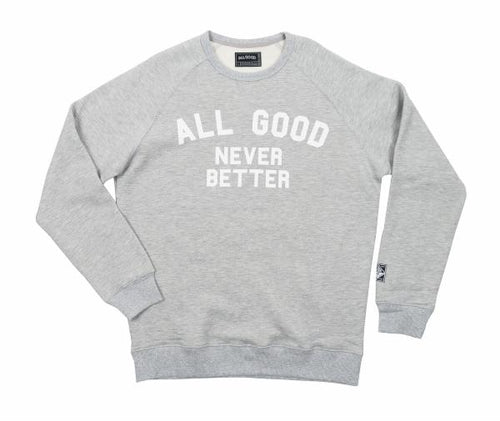 All Good All Good - AGNB Raglan Grey [product_variant] Sweatshirt - Wander Outfitters