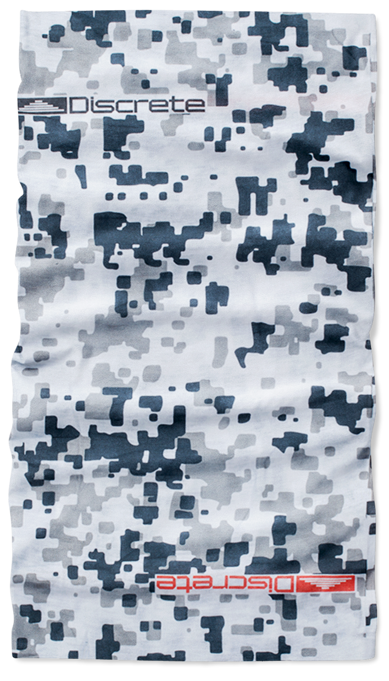 Discrete SNOW CAMO NECK GAITER [product_variant] Neck Gaiters - Wander Outfitters