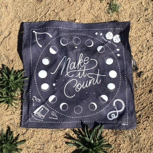Apprvl Make It Count Bandana [product_variant] scarves - Wander Outfitters