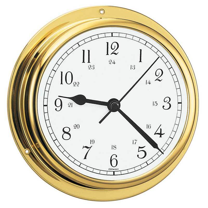 Viking Brass Quartz Ship's Clock - Trintec Industries Inc.