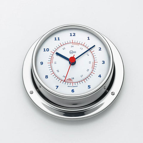Sky Stainless Steel Quartz Ship's Clock - Trintec Industries Inc.