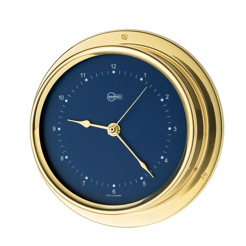 Regatta Brass Quartz Ship's Clock