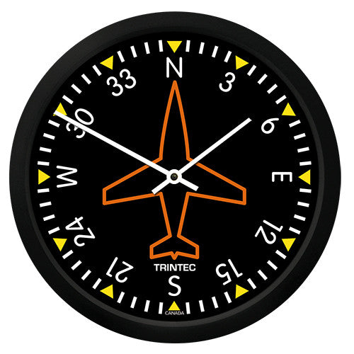 "10"" Classic Directional Gyro Round Clock"