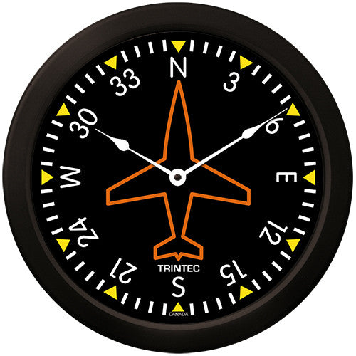 "14"" Classic Directional Gyro Clock - Trintec Industries Inc."