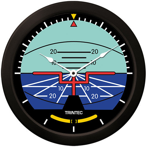 "14"" Classic Artificial Horizon Clock - Trintec Industries Inc."