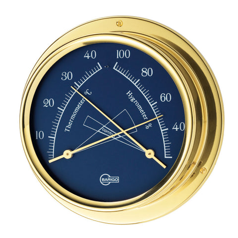 Regatta Polished Brass Ship's Comfortmeter