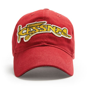 Cessna Plane Cap Heritage Red - Trintec Industries Inc.