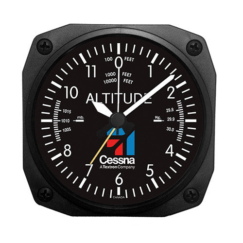 Cessna Altimeter Desk Model Alarm Clock