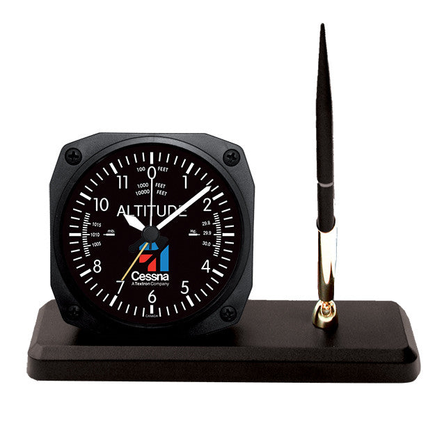 Cessna Altimeter Desk Pen Set - Trintec Industries Inc.