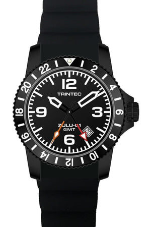 ZULU-01 GMT / Black / Quartz