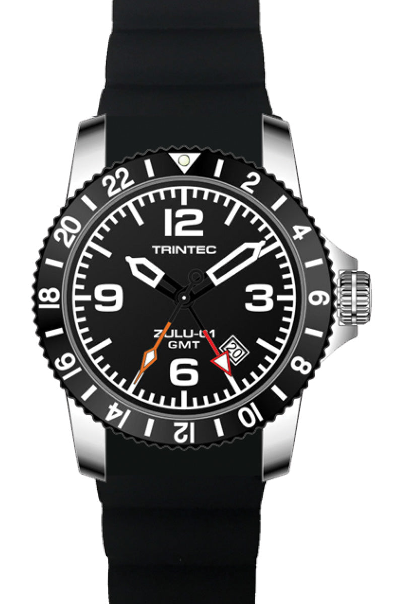 CoPilot GMT - Stainless