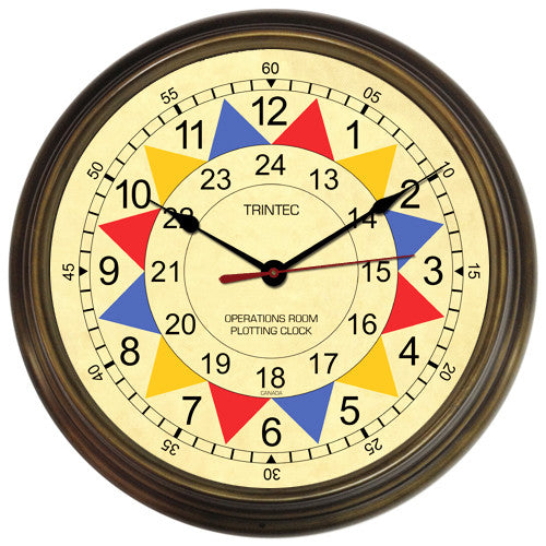 "14"" Operations Room Sector Clock"