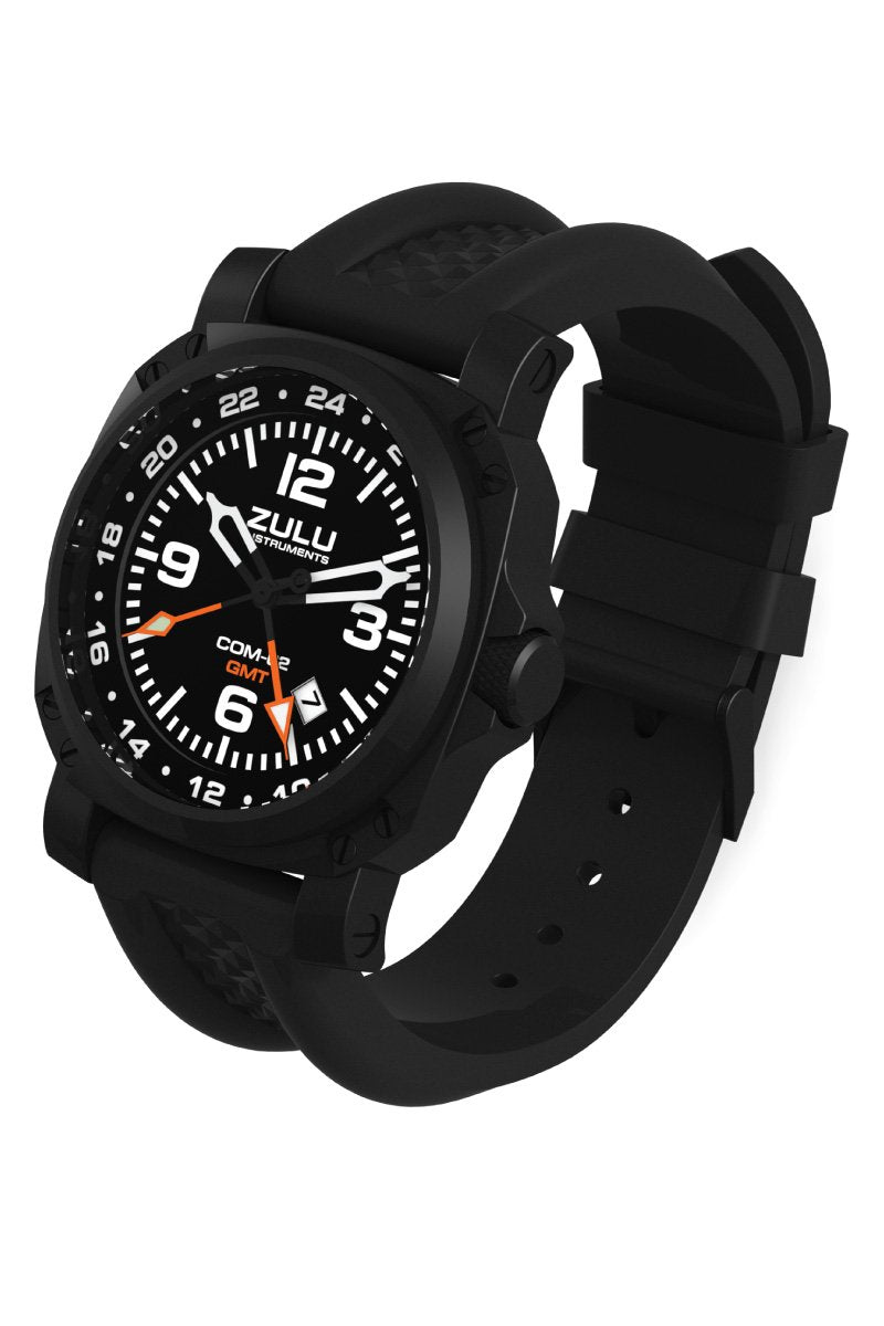 COM-02 GMT - Black - Perspective