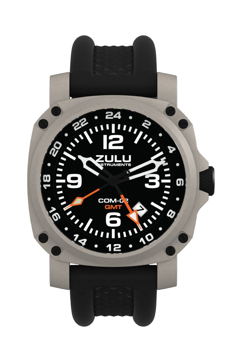 COM-02 GMT - Stainless - Front