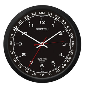 "10"" DISPATCH Dual Time Clock - Trintec Industries Inc."