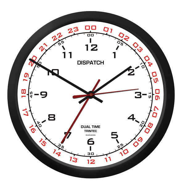 "10"" Dispatch Dual Time Clock - W"