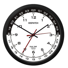 "10"" Dispatch Dual Time Clock-WB"