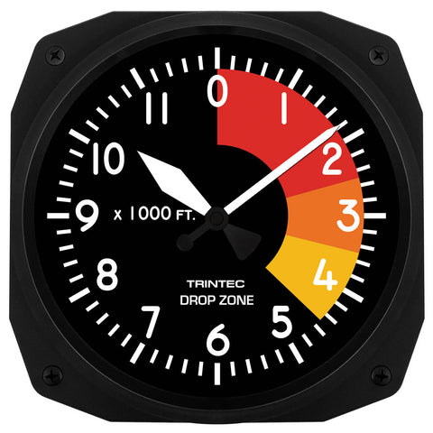 "10"" Drop Zone Clock"