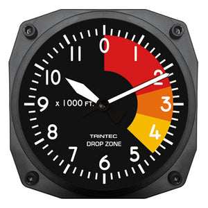 "6"" Drop Zone Clock"