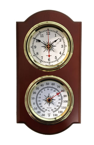 Clock & Thermometer