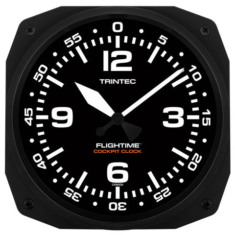 "10"" FLIGHTIME Cockpit Clock"