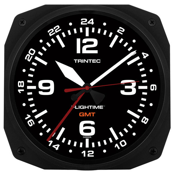 "10"" FLIGHTIME™ GMT Dual Time Clock (NEW)"