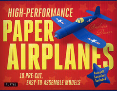 High Performance Paper Airplane Kit - Front