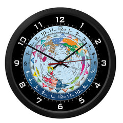 "10"" World Time Clock"